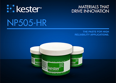 Kester NP505-HR Solder Paste